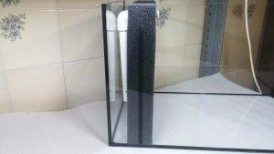 filtracja hamburska - widok gotowego filtra z boku