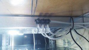 filtracja hamburska - zaworki rozprowadzające powietrze